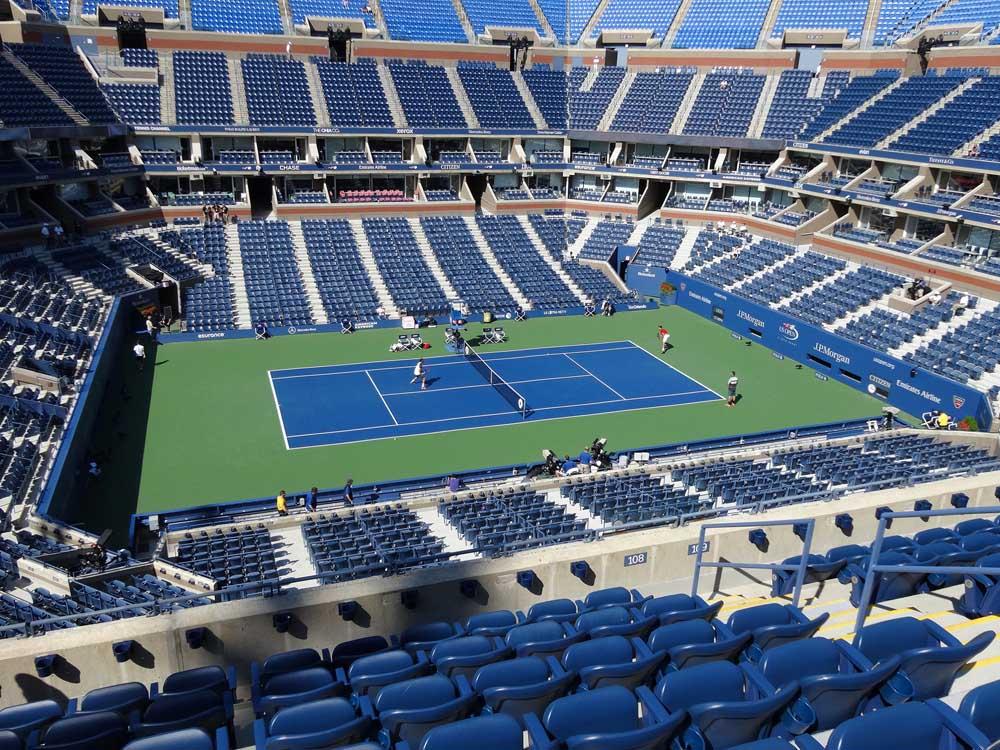Arthur Ashe Stadium View From Loge 108 Vivid Seats
