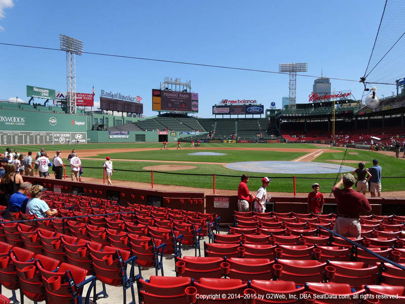 Fenway Park View From Field Box 50 Vivid Seats