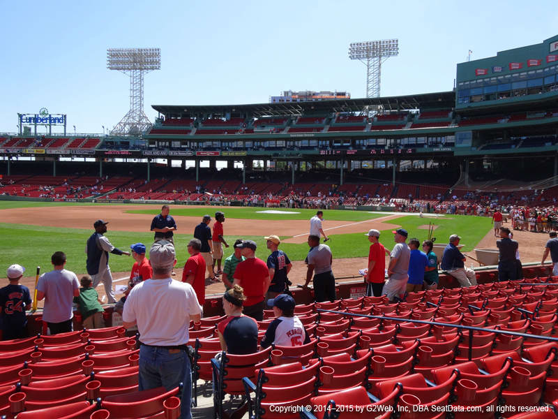 Fenway Park View From Field Box 78 Vivid Seats