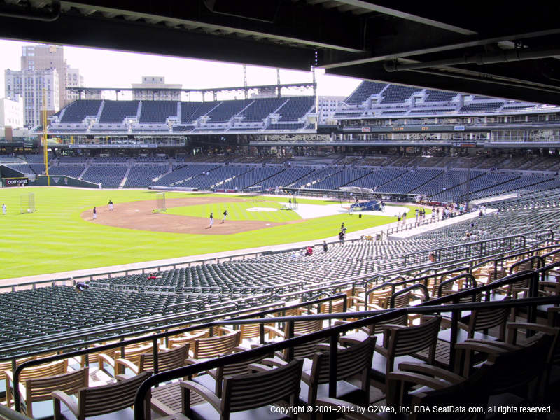 Comerica Park View From Terrace 139 | Vivid Seats