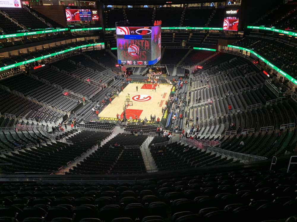 State Farm Arena View From Section 202 Vivid Seats