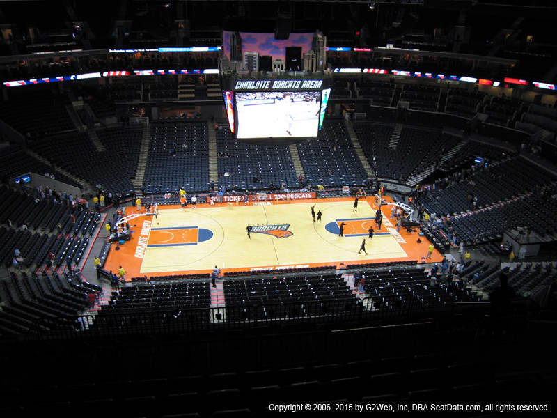 Spectrum Center View From Upper Level 226 Vivid Seats