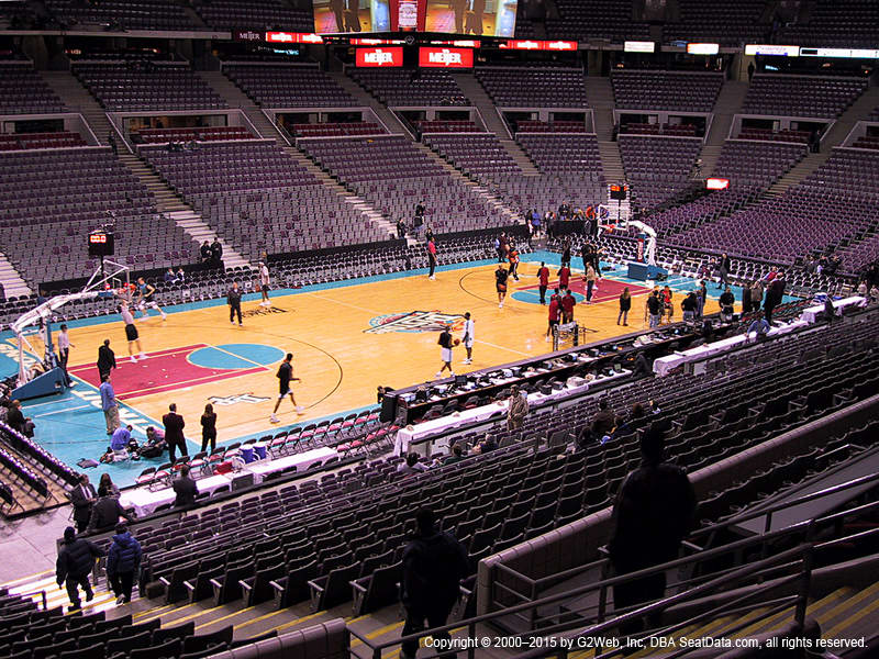 Palace Of Auburn Hills View From Section 116 Vivid Seats