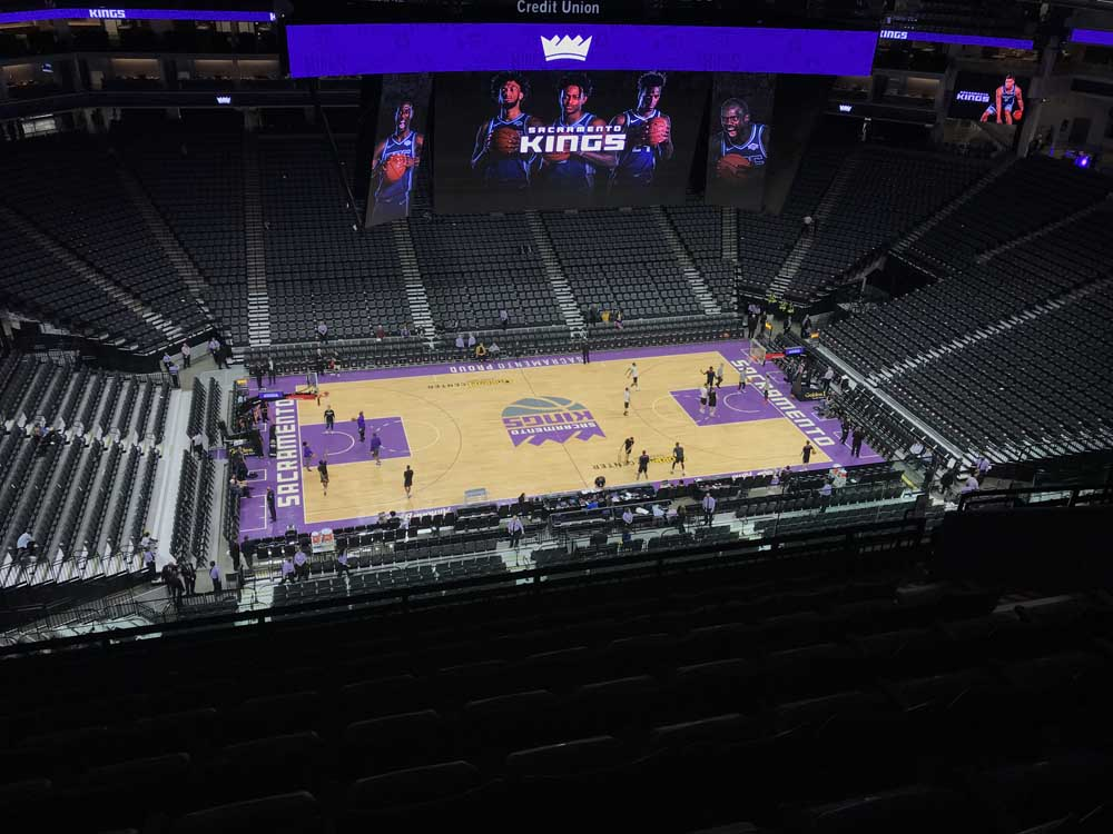 Golden 1 Center View From Section 206 Vivid Seats