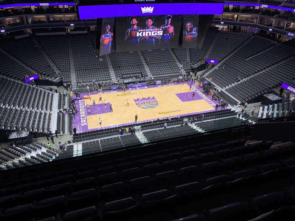 Golden 1 Center View From Section 219 Vivid Seats