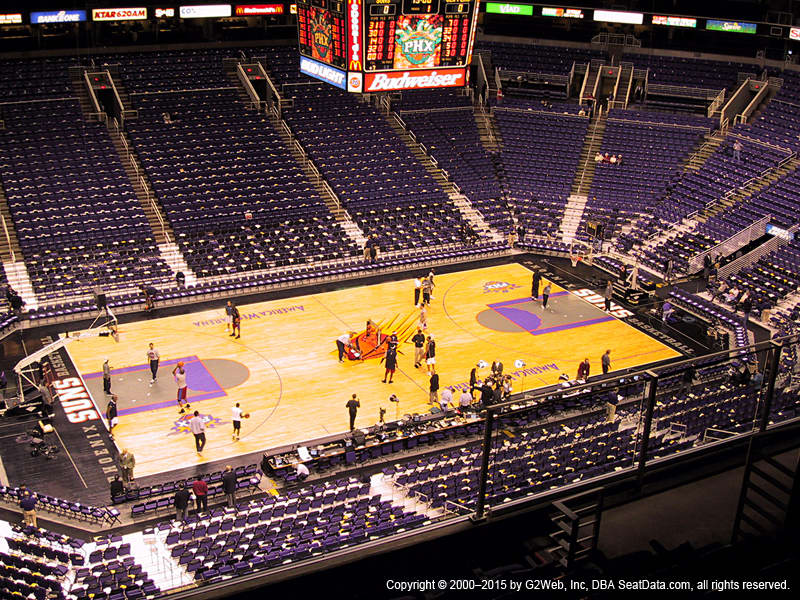Talking Stick Resort Arena View From Upper Level 205 | Vivid