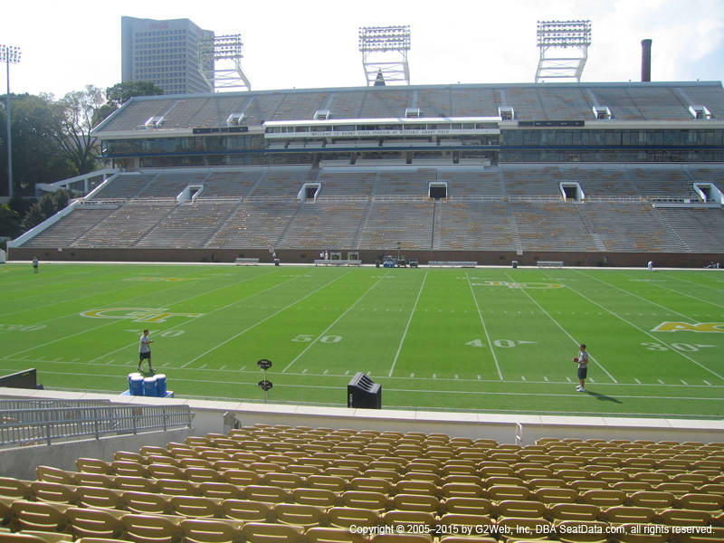 Bobby Dodd Stadium View From Club 2 Vivid Seats