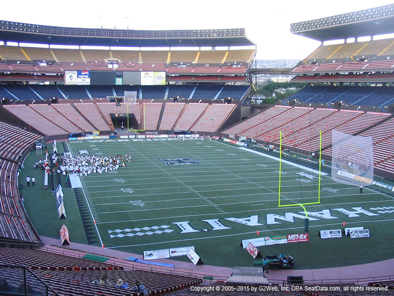 Aloha Stadium View From Blue Level C | Vivid Seats