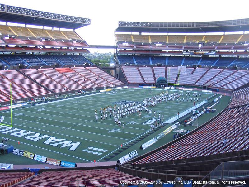 Aloha Stadium View From Blue Level R   Vivid Seats