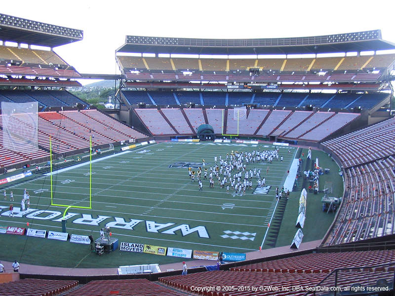 Aloha Stadium View From Blue Level T | Vivid Seats