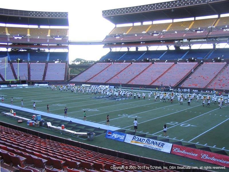 Aloha Stadium View From Orange Level PP | Vivid Seats