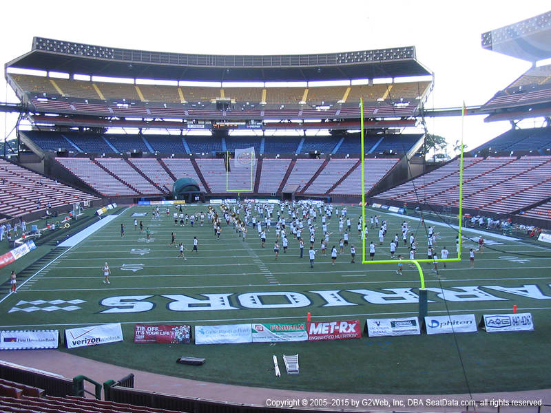 Aloha Stadium View From Orange Level UU | Vivid Seats