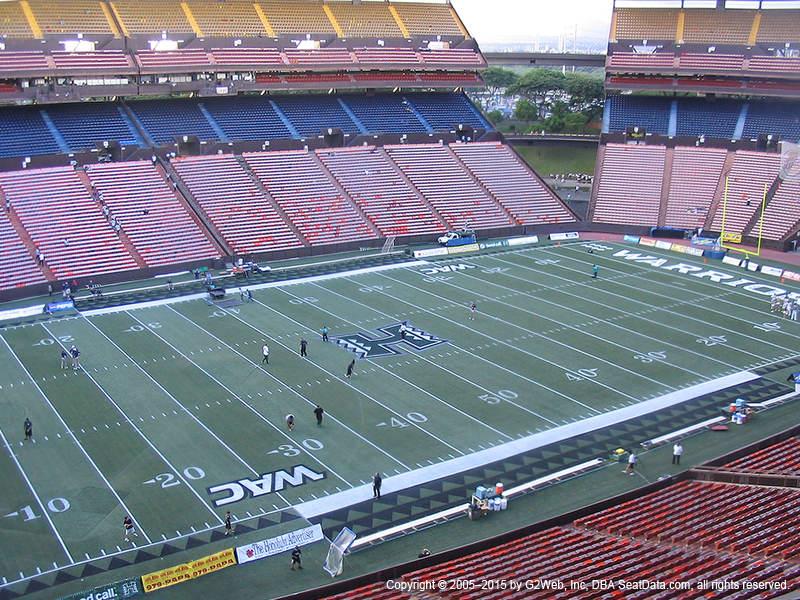 Aloha Stadium View From Red Level GG | Vivid Seats