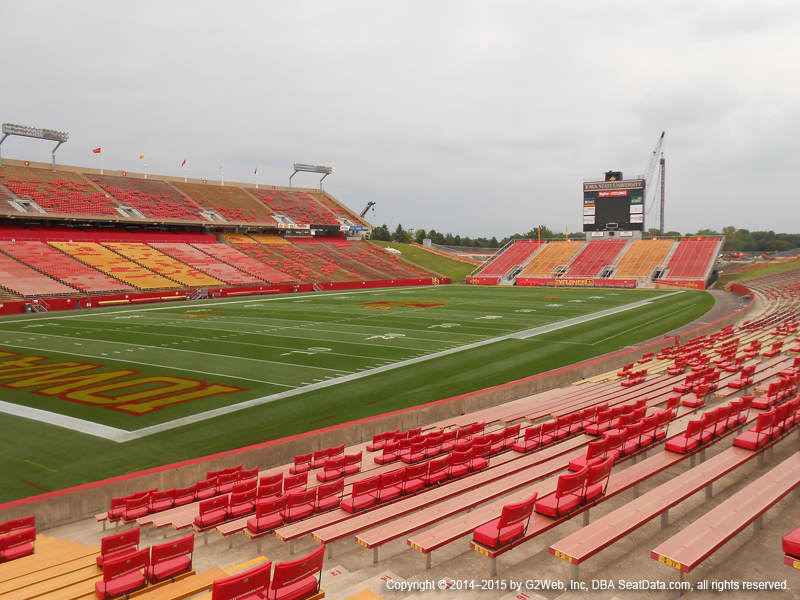 Jack Trice Stadium View From Lower Level 1 Vivid Seats