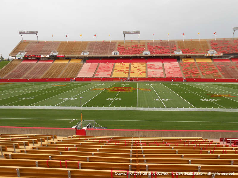 Jack Trice Stadium View From Lower Level 9 Vivid Seats
