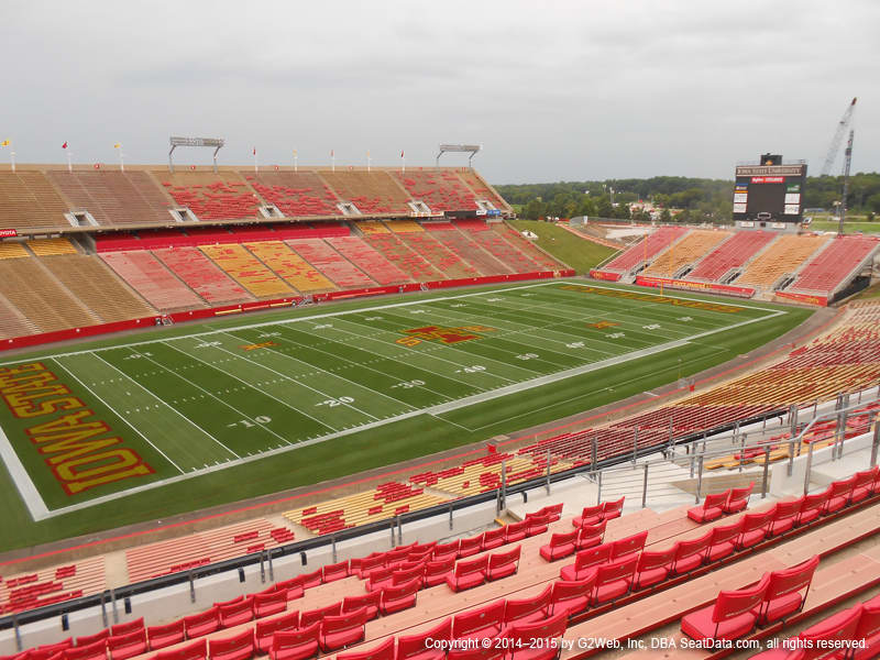 Jack Trice Stadium View From Upper Level B Vivid Seats