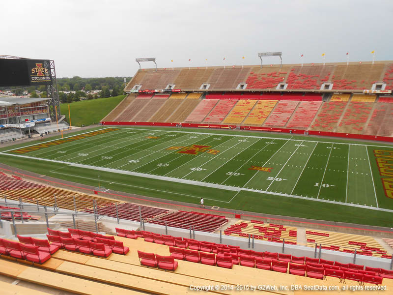 Jack Trice Stadium View From Upper Level G Vivid Seats