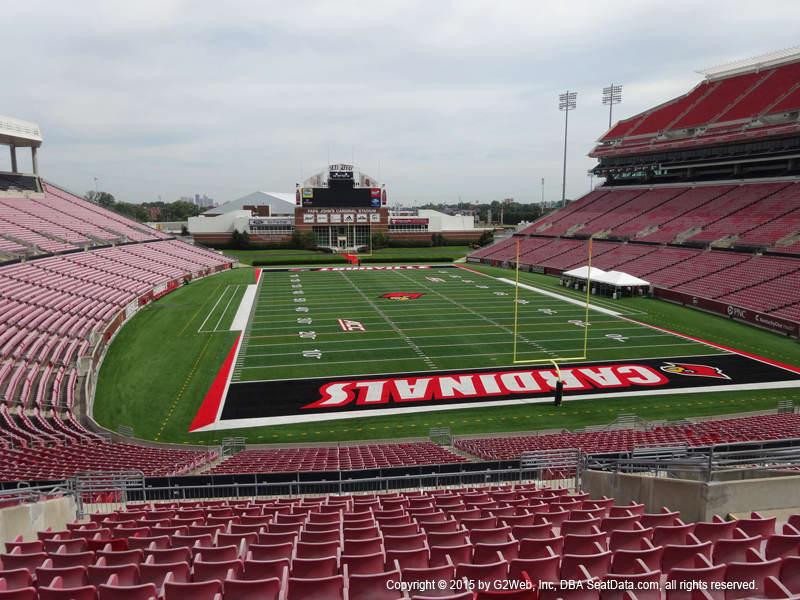 Papa Johns Cardinal Stadium Seating Chart Vivid Seats