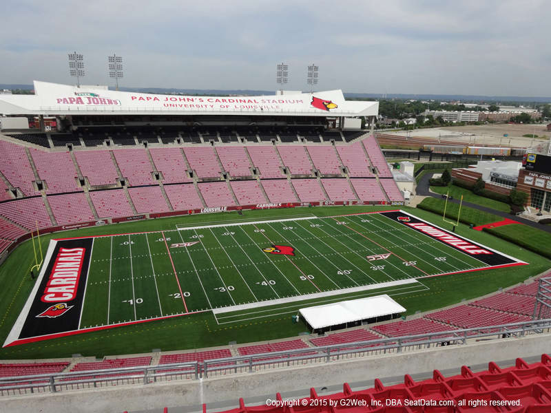 Cardinal Stadium View From Section E9 Vivid Seats
