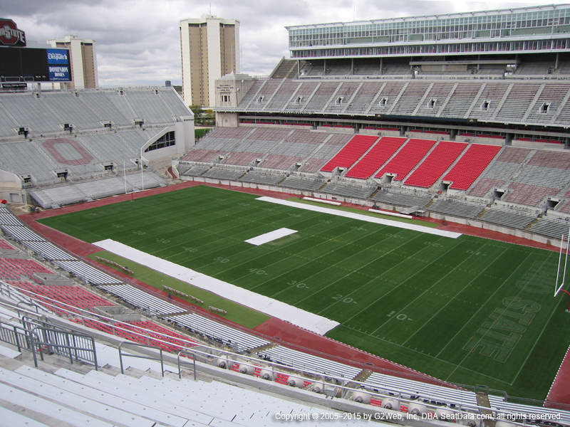 Ohio Stadium View From Section 14c Vivid Seats