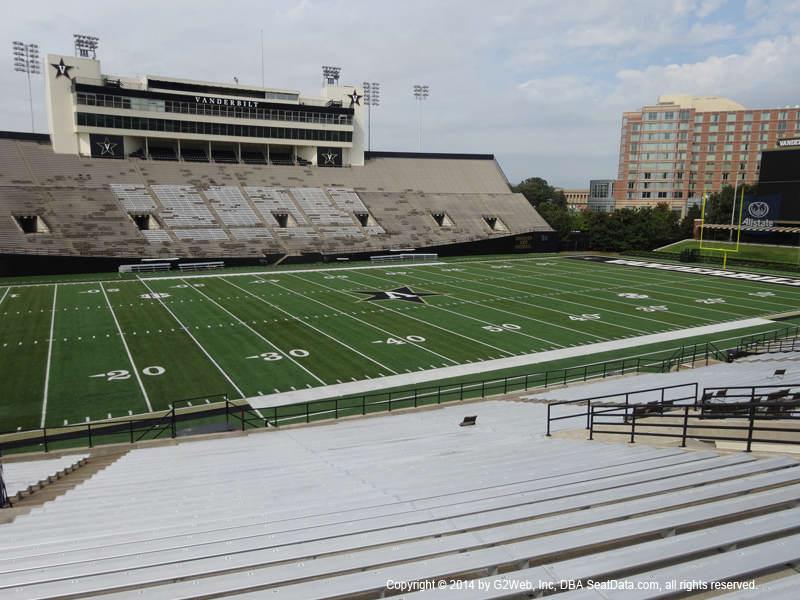 Vanderbilt Stadium View From Section Q Vivid Seats