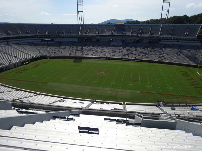 Scott Stadium View From Upper Level 506 Vivid Seats
