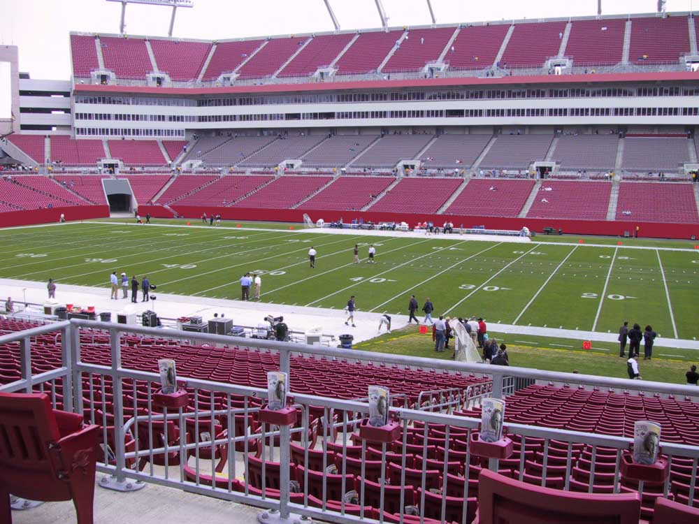 Raymond James Stadium View From Club Level 213 Vivid Seats