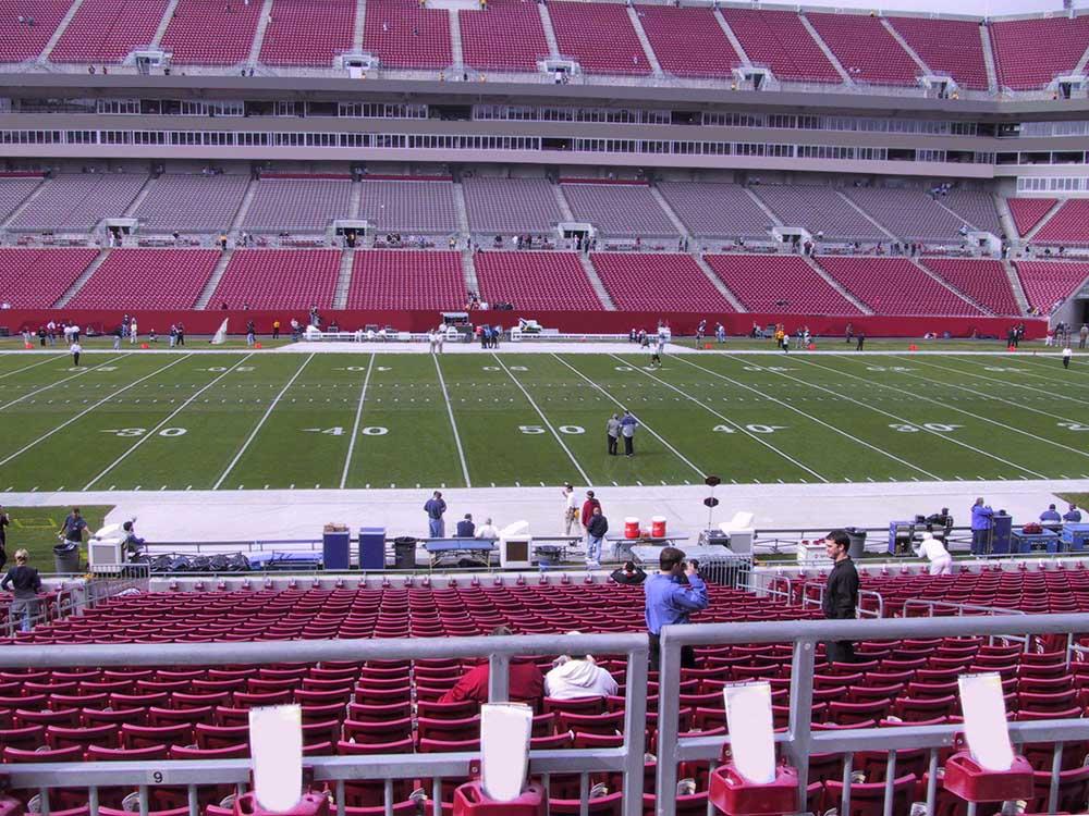Raymond James Stadium View From Club Level 235 Vivid Seats