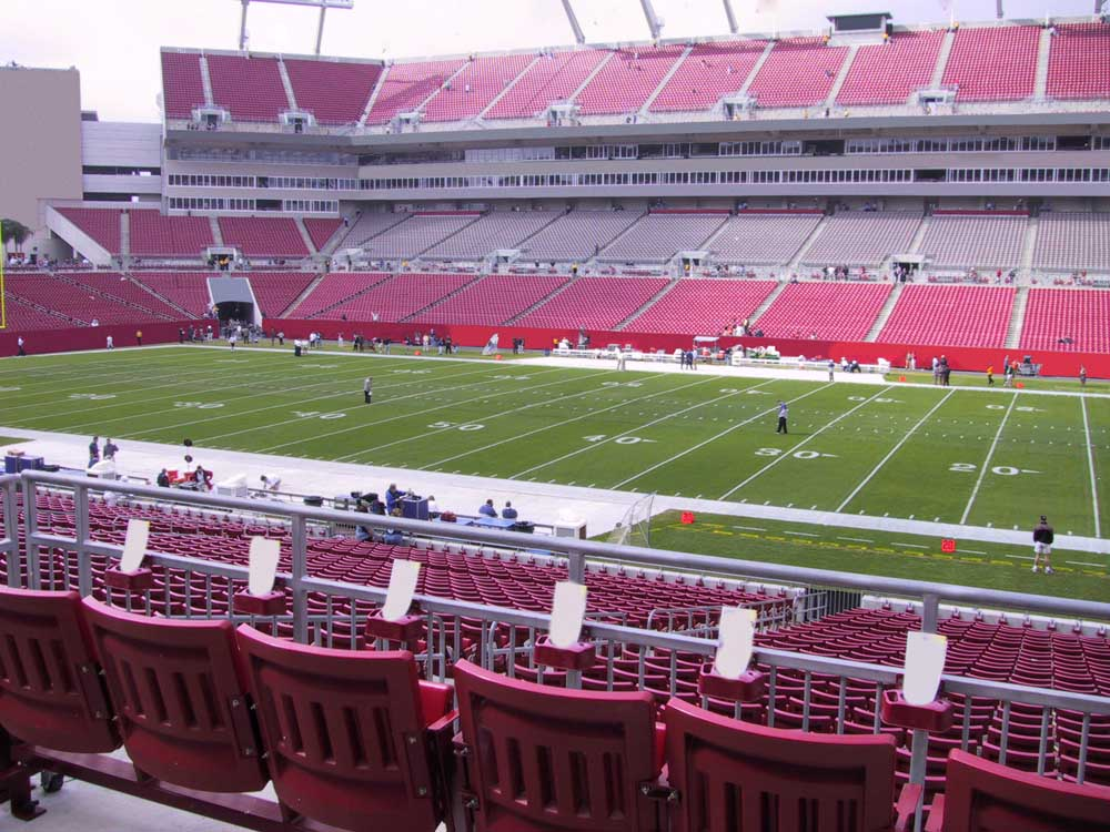 Raymond James Stadium View From Club Level 238 Vivid Seats
