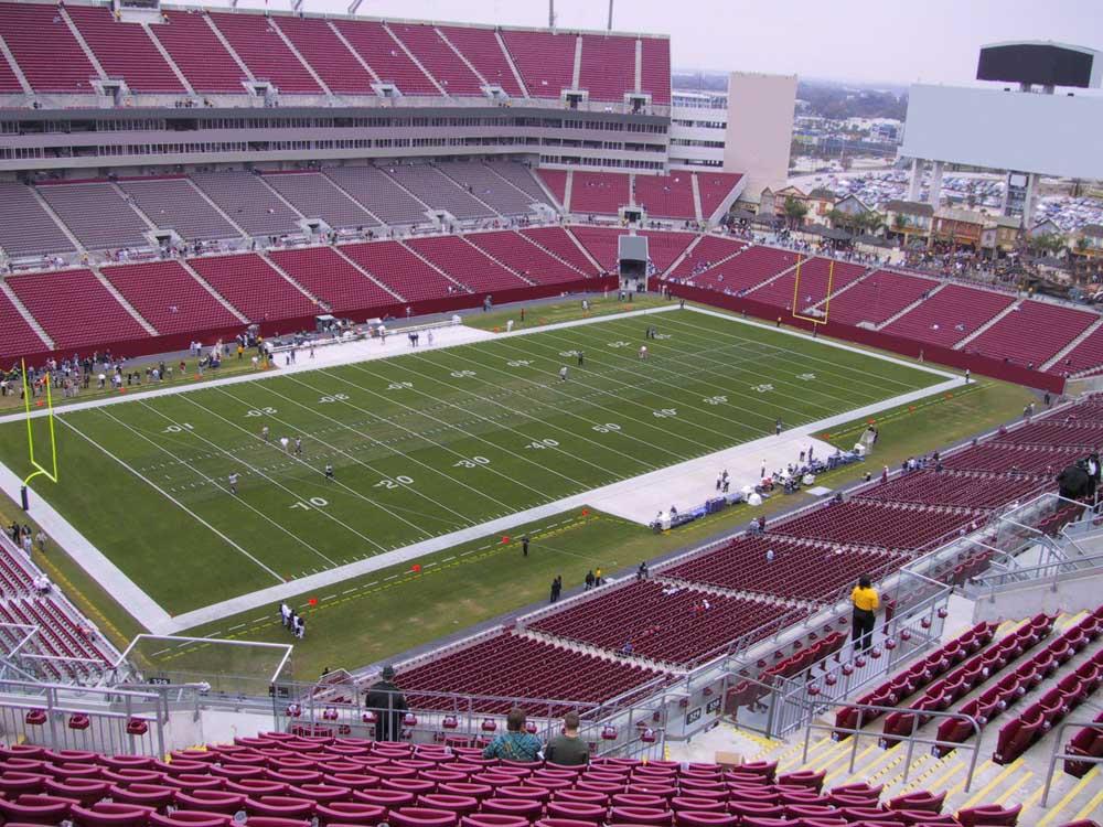 Raymond James Stadium View From Upper Level 329 Vivid Seats
