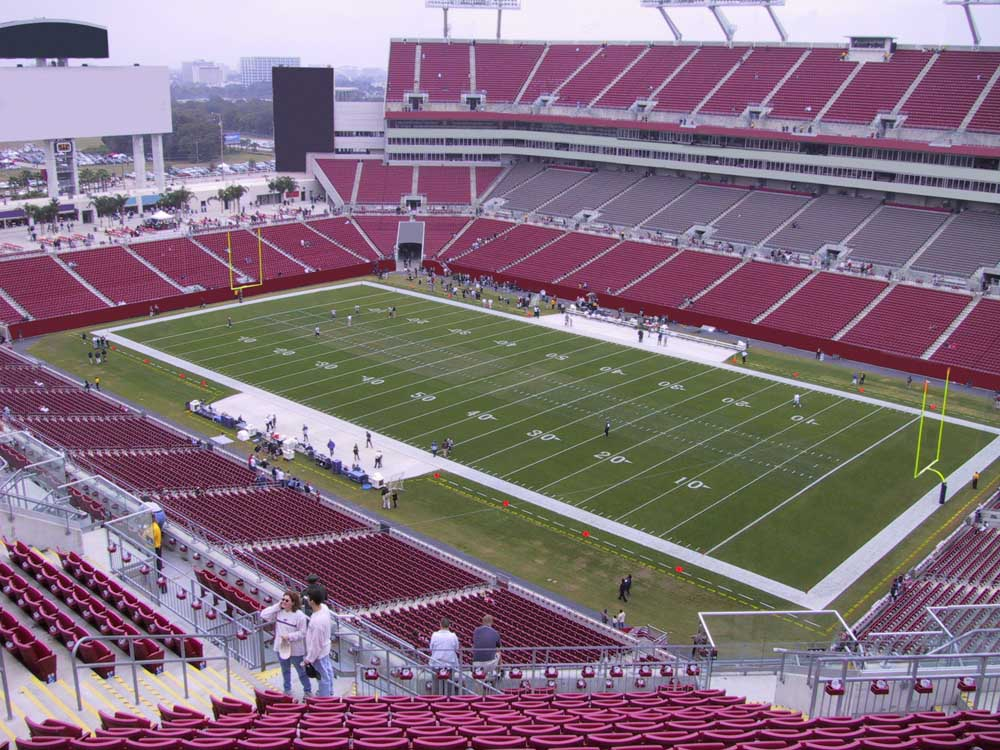Raymond James Stadium View From Upper Level 342 Vivid Seats