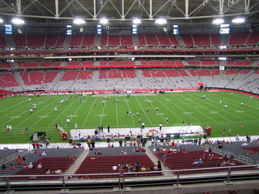 State Farm Stadium View From Club Level 238 | Vivid Seats