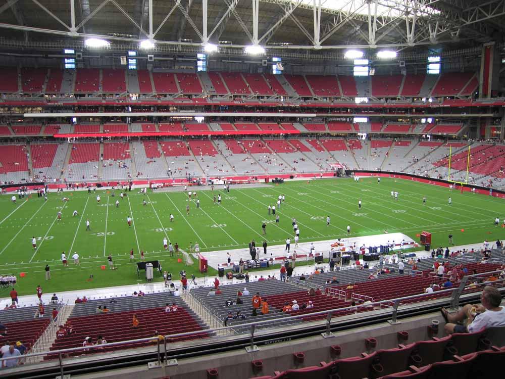 State farm stadium seating