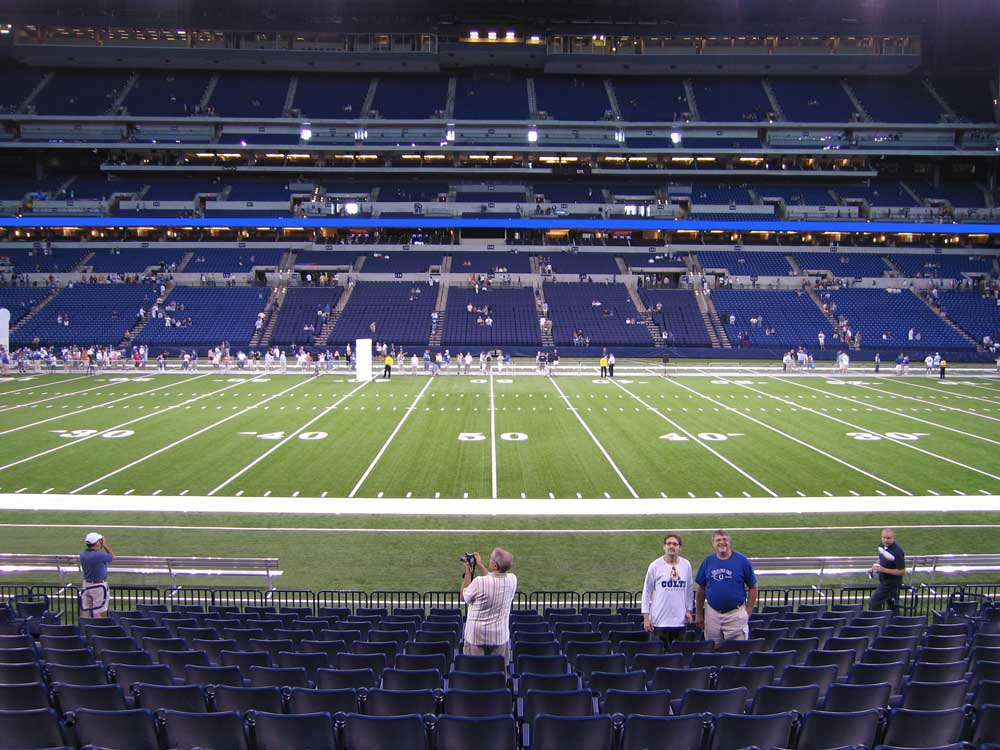 Lucas Oil Stadium View From Lower Level 113 Vivid Seats