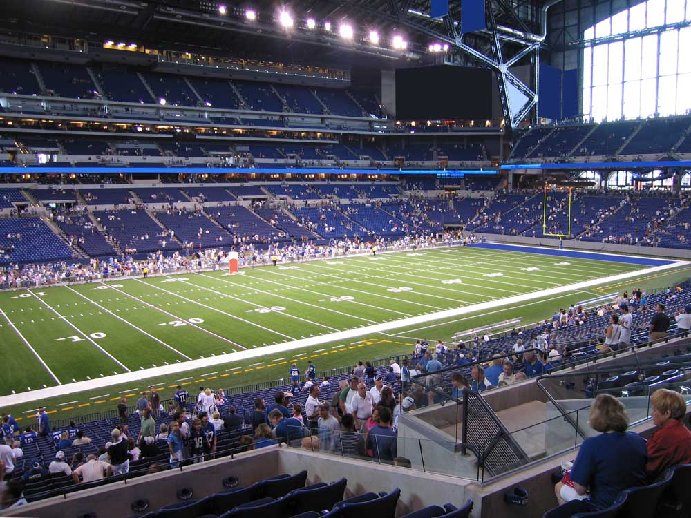 Lucas Oil Stadium View From Lower Level 217 Vivid Seats