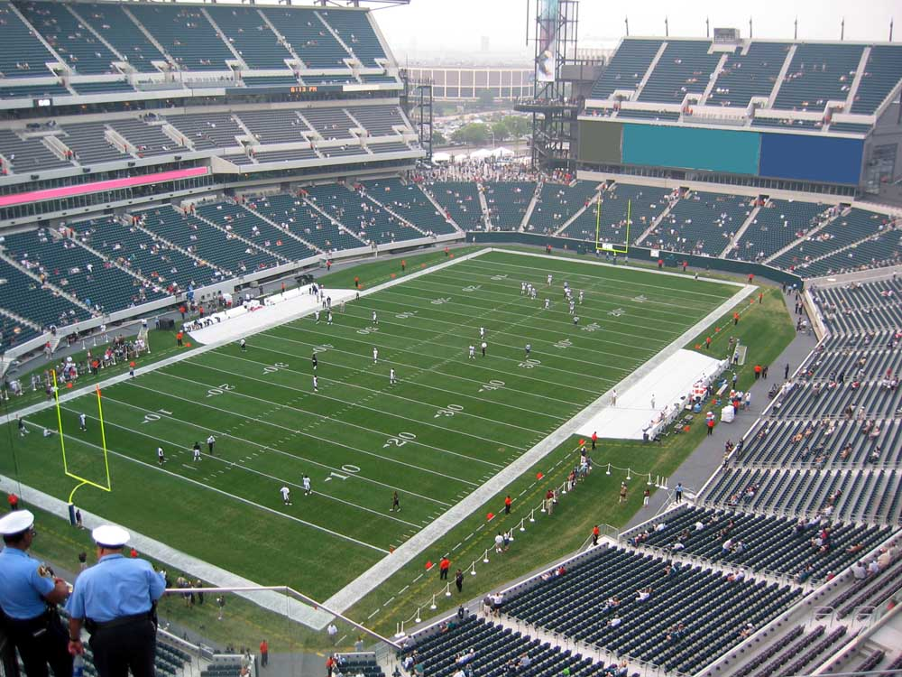 Lincoln Financial Field View F...