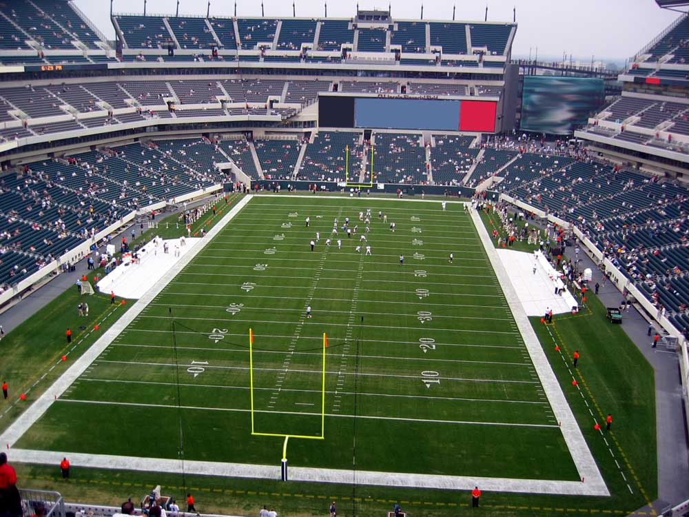 Lincoln Financial Field View From Upper Level 236 Vivid Seats