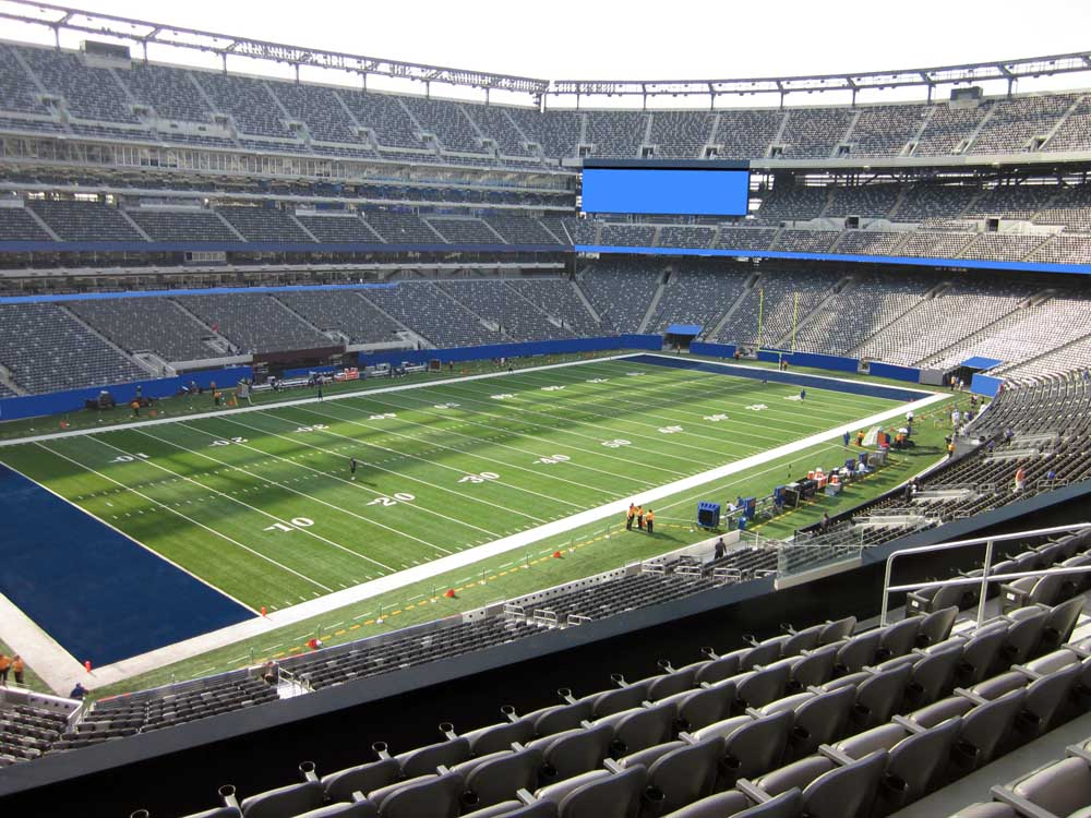 Metlife Stadium View From Mezzanine Club 219 Vivid Seats