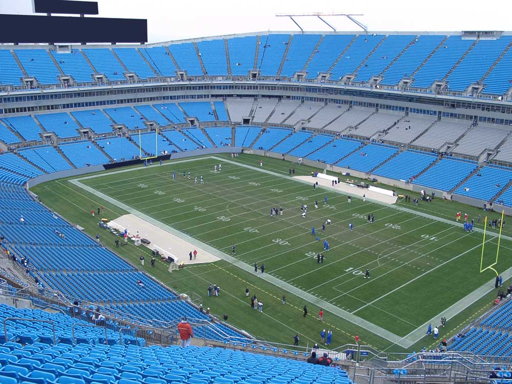 Bank Of America Stadium View From Upper Level 508 Vivid Seats