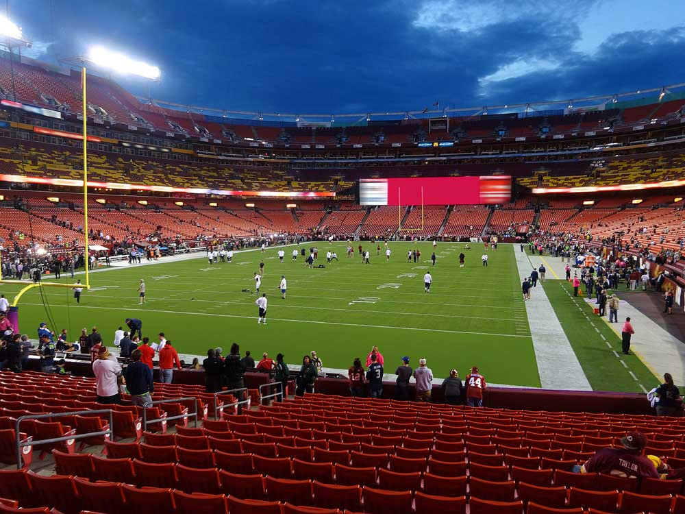 Fedexfield View From Lower Level 130 Vivid Seats