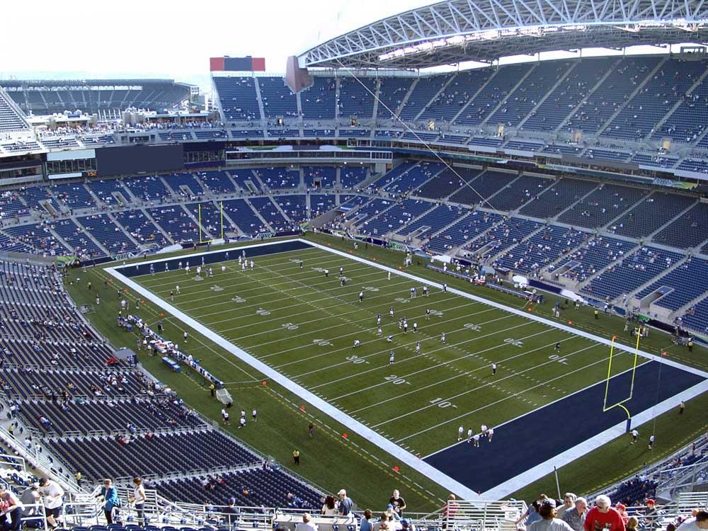 Centurylink Field View From Upper Level 301 Vivid Seats