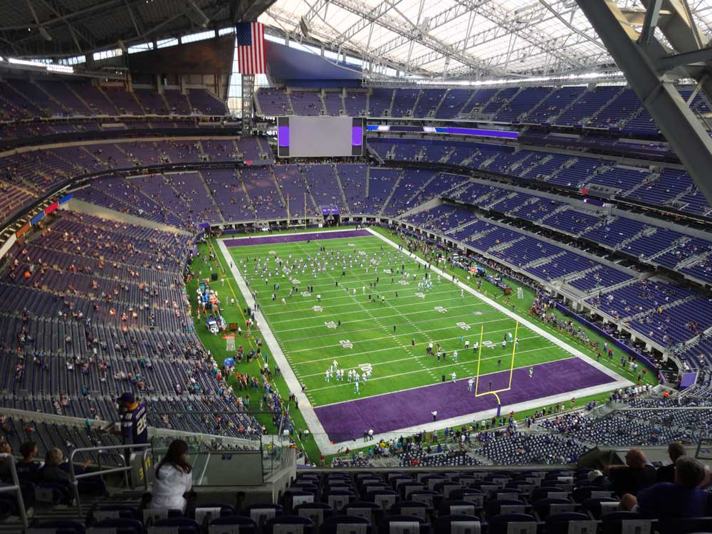 Us Bank Stadium View From Section 301 Vivid Seats