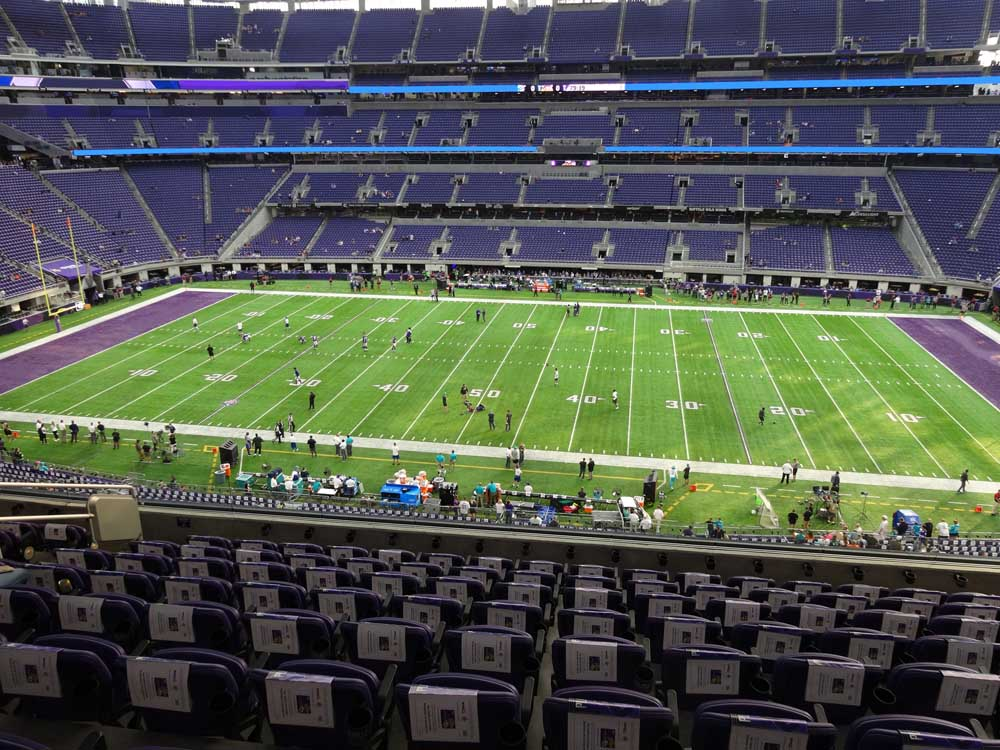 Us Bank Stadium View From Club Level C2 Vivid Seats