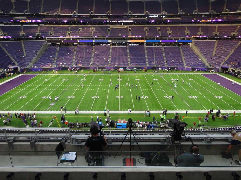 Us Bank Stadium View From Club Level C8 Vivid Seats