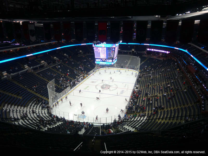 Nationwide Arena View From Section 303 Vivid Seats