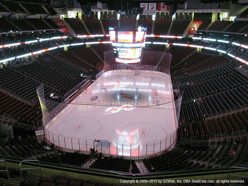 Prudential Center View From Mezzanine 121 Vivid Seats