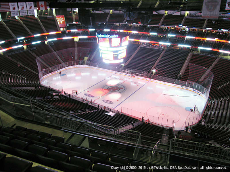 Prudential Center View From Upper Level 215 Vivid Seats
