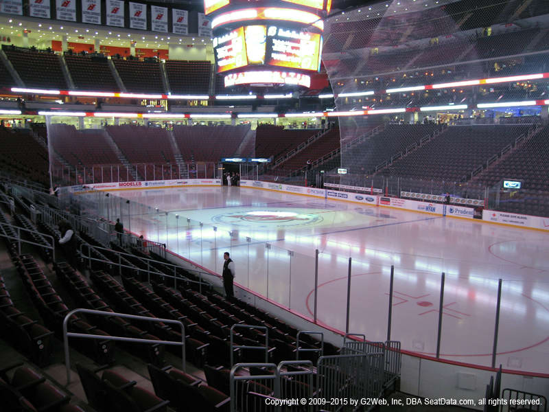 Prudential Center View From Lower Level 22 Vivid Seats