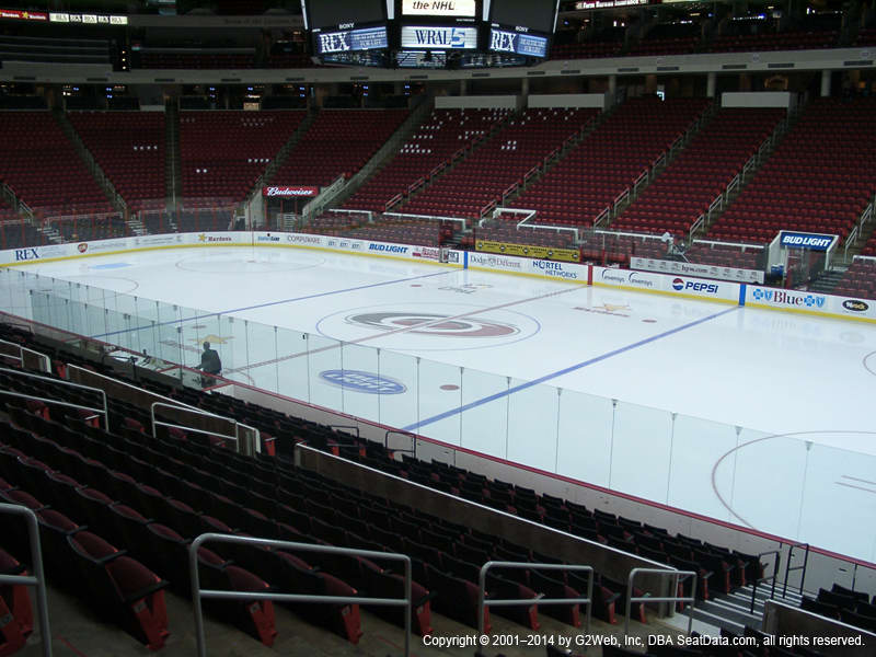 Pnc Arena View From Lower Level 116 Vivid Seats