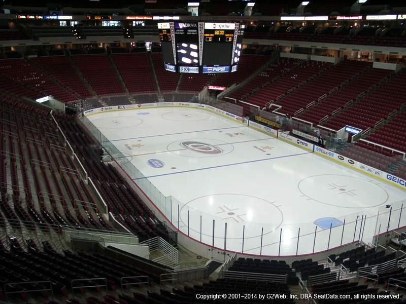 Pnc Arena View From Club Level 215 Vivid Seats